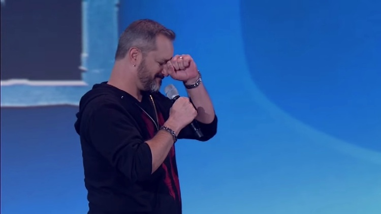 BlizzCon 2014: Chris Metzen during the Overwatch reveal