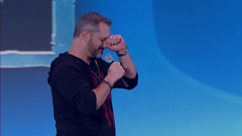 BlizzCon 2014: Chris Metzen during the Overwatch reveal