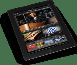 Bloomberg TV iPad app