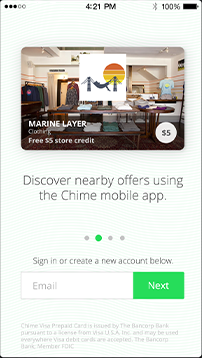 Chime lands $8M and launches its debit rewards mobile app