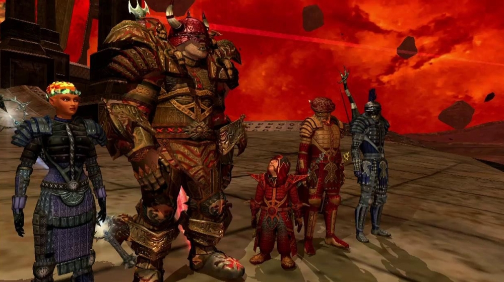 EverQuest II had a less stylized look than World of Warcraft.