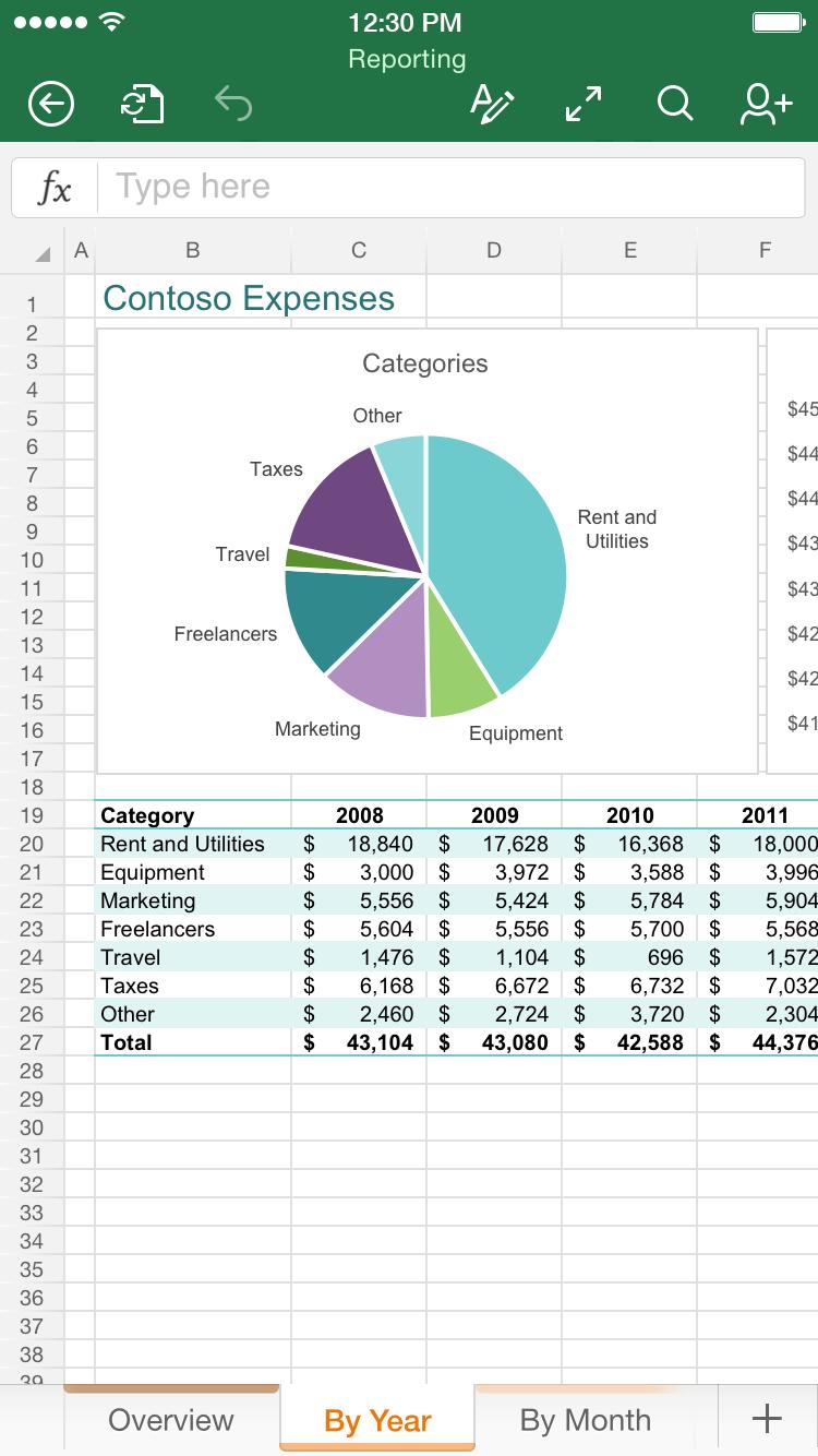 Microsoft Excel on the App Store - itunes.apple.com