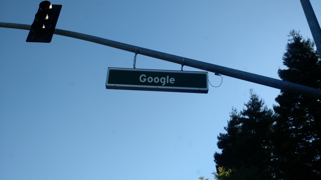 At the Googleplex in Mountain View, Calif.