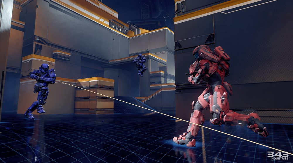 Halo 5 Guardians multiplayer Breakout map.