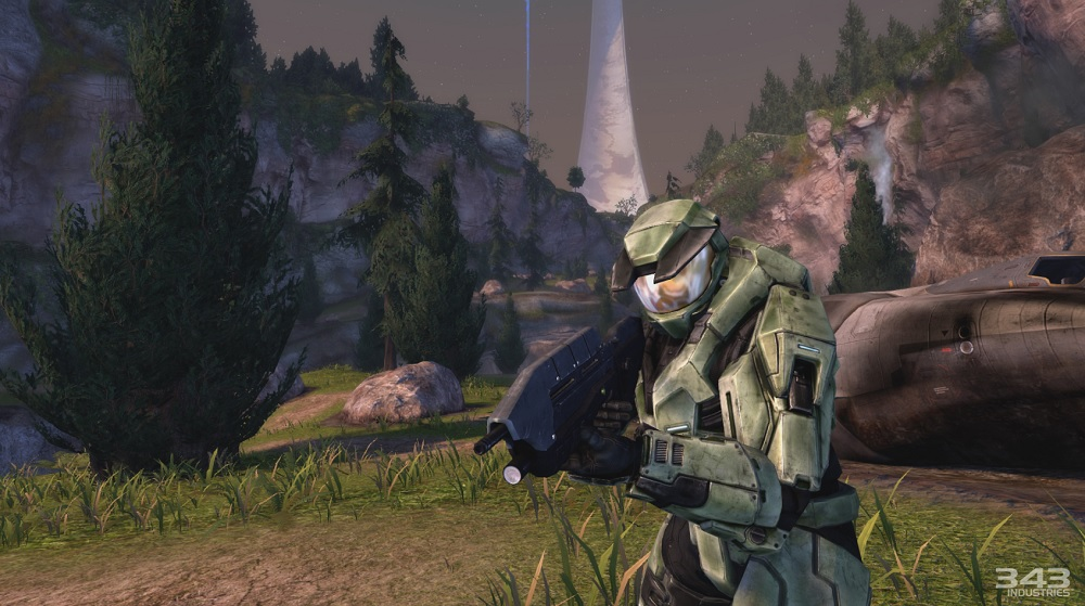 Halo: Combat Evolved debuted in 2001