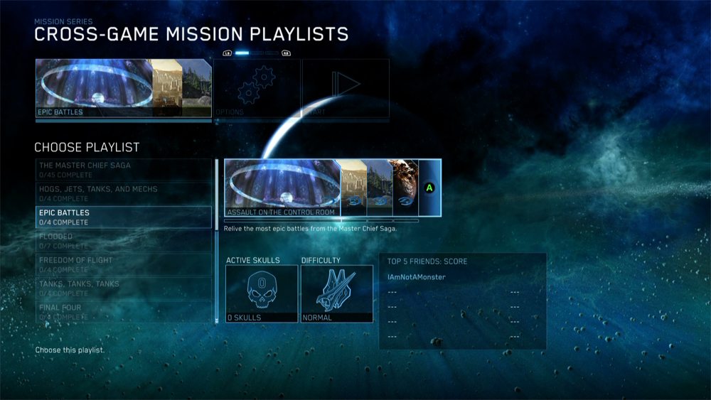 Play through missions with a common thread across all the Halo campaigns in The Master Chief Collection.