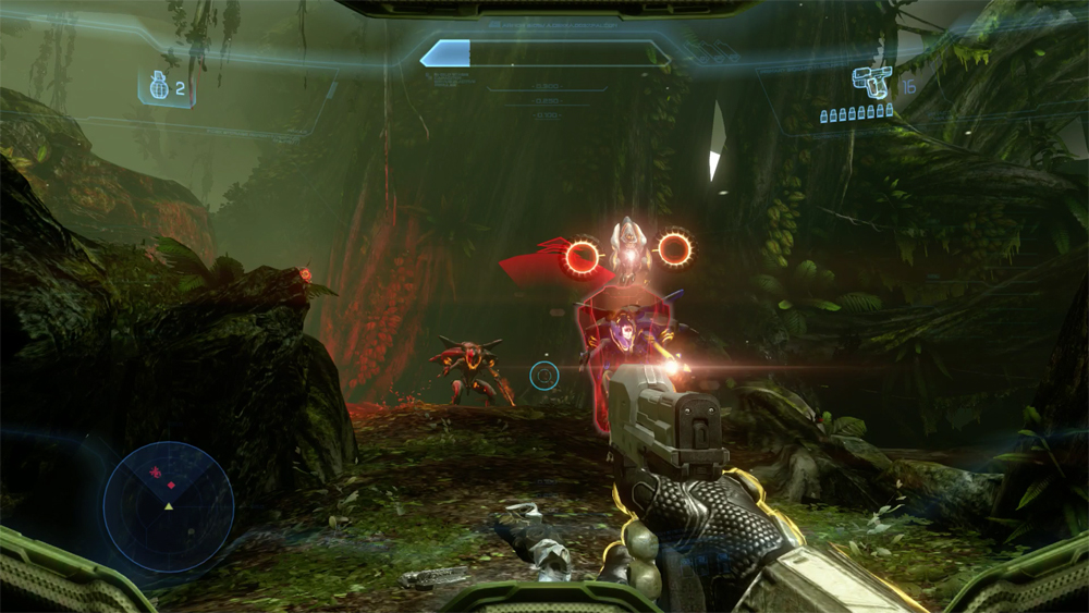 Halo 4 looks like it was made for next-generation hardware.
