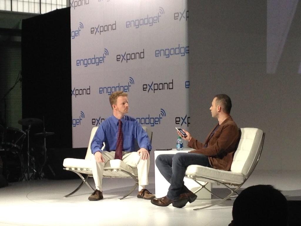 Right: Paul Eremenko, head of Google's Project Ara