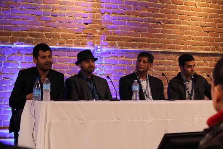 Anmol Madan, Ginger; Nadeem Kassam, BioBeats; Satish Movva, Care Predict; Tejash Unadkat, Basis