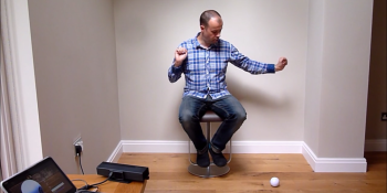 Watch a Microsoft engineer use Kinect and a Sphero to simulate telekinesis