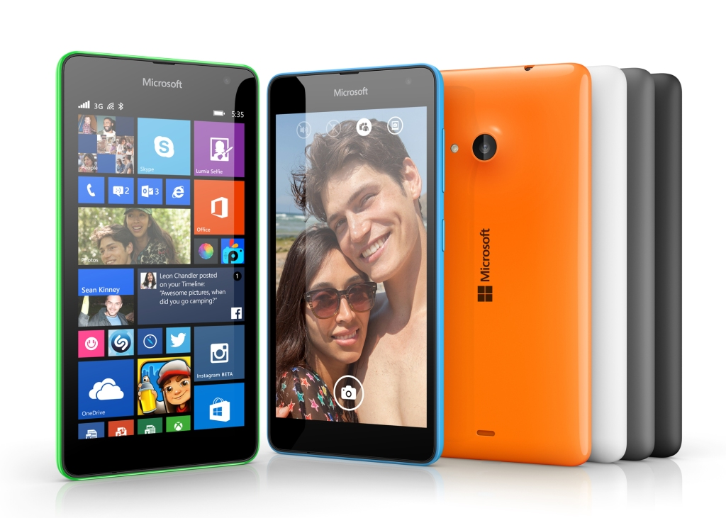 Microsoft launches $136 dual-SIM Lumia 535, its first non