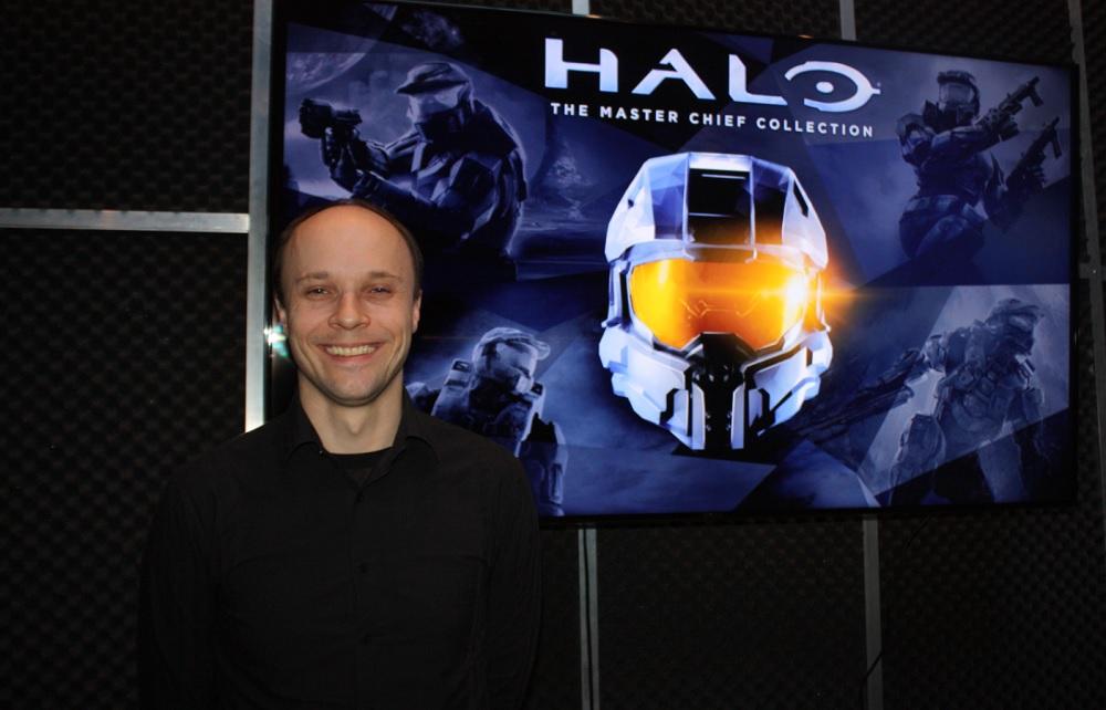 Max Szlagor, senior designer at 343 Industries