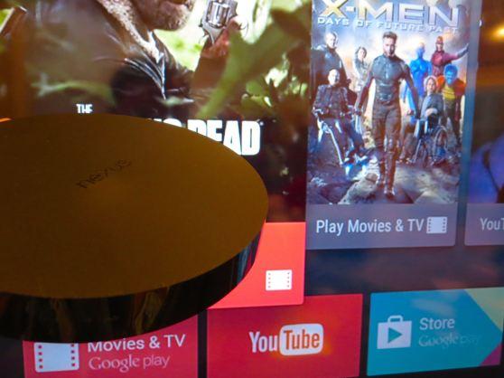 Nexus Player and app icons