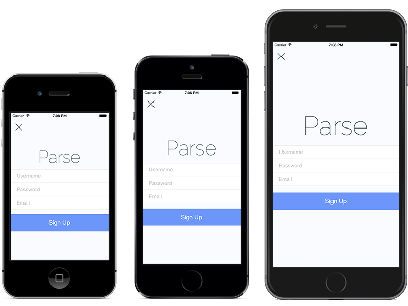 iphone 5 height parse releases new app elements for ios devices on all 10996