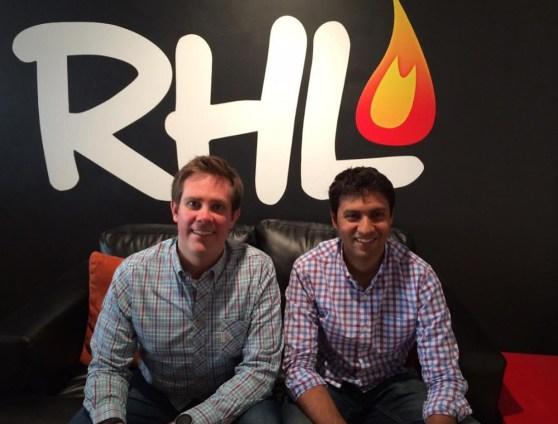 Joel Poloney and Amitt Mahajan of Red Hot Labs