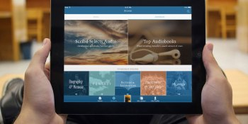 Scribd goes after Audible, adds 30,000 audio books to its unlimited ebook service