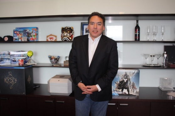 Shawn Layden, head of Sony's North American PlayStation business.