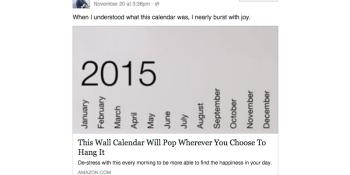 This calendar made George Takei 'nearly burst with joy'