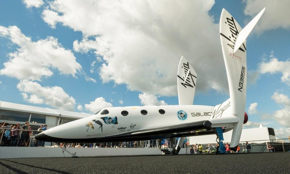 The Virgin Galactic SpaceShipTwo