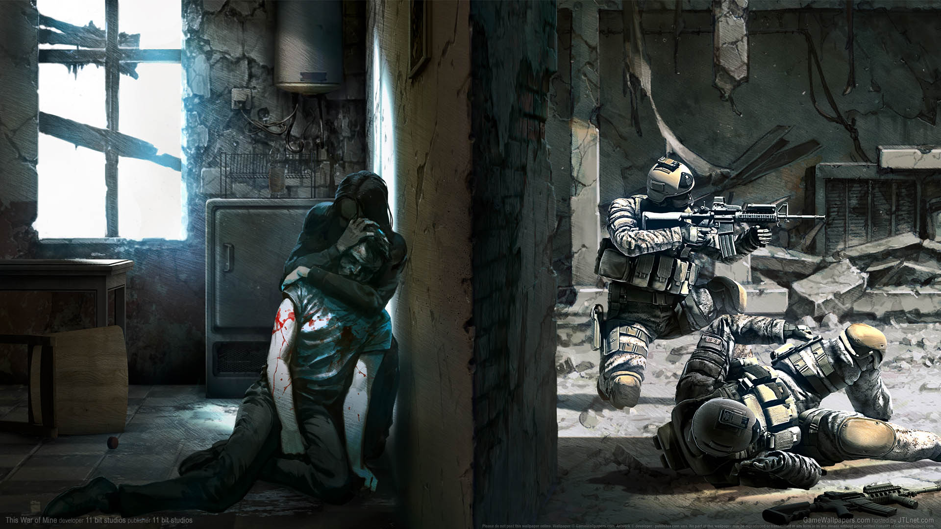 war is hell how this war of mine drew on real life survivors for