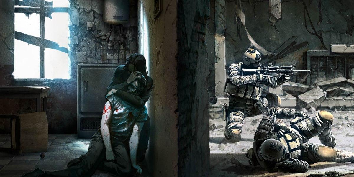 This War of Mine art shot