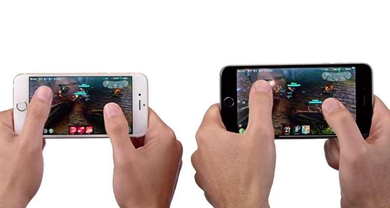 Vainglory commercial for the iPhone 6 and iPhone 6 Plus.