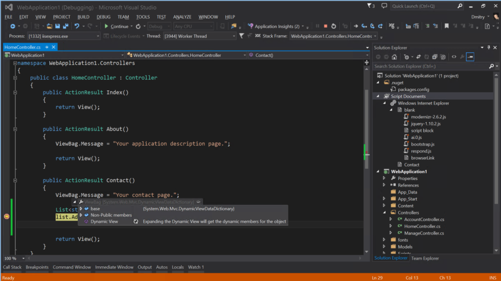 visual studio 2013 express インストール