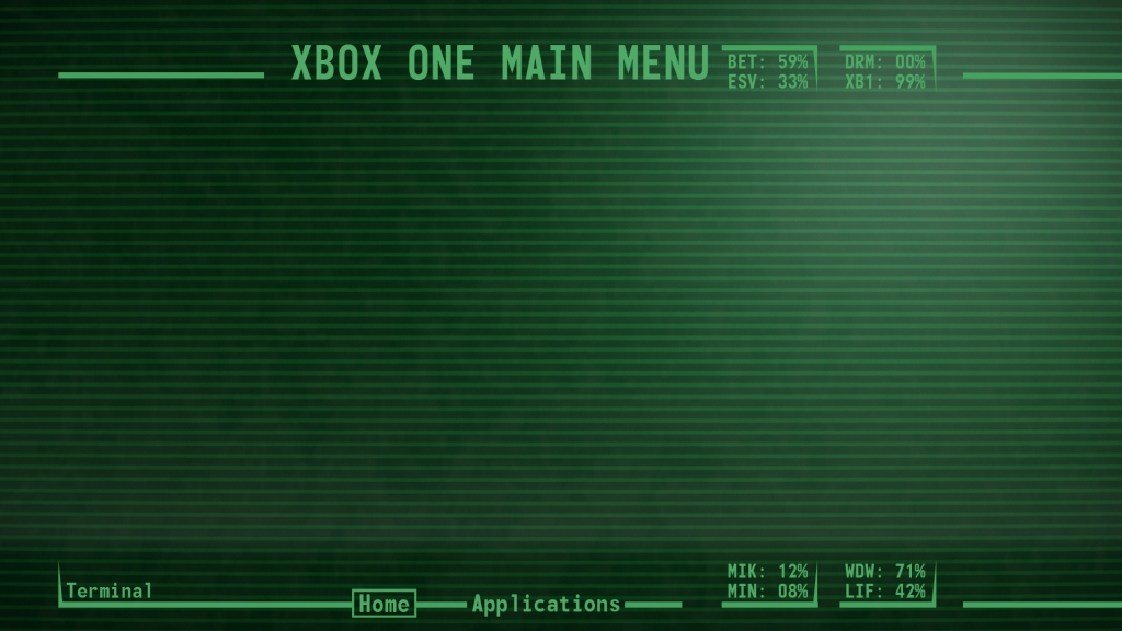 Turn your screen into a Pipboy.