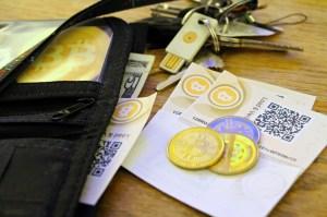 Bitcoin and cash