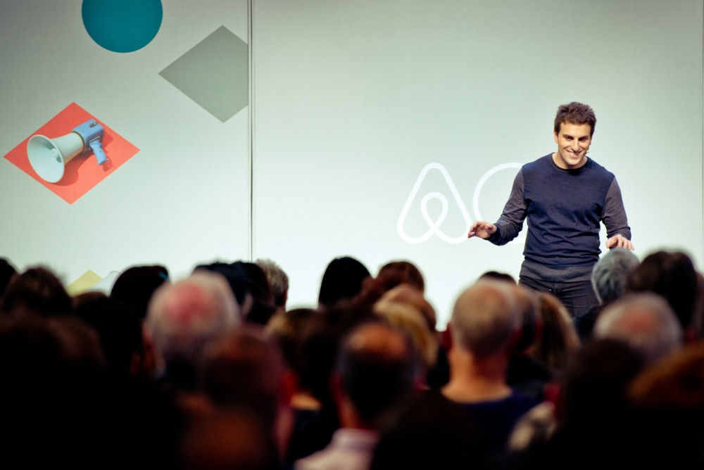 Airbnb chief executive Brian Chesky.
