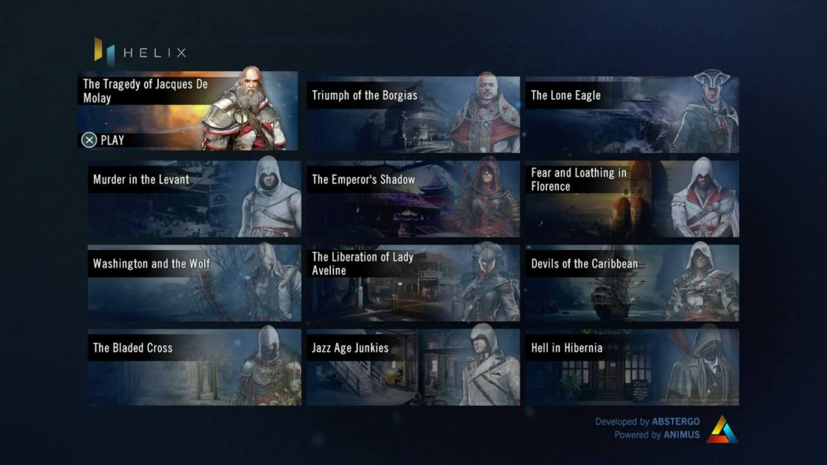 Here S What S Up With Assassin S Creed Unity S Helix Menu
