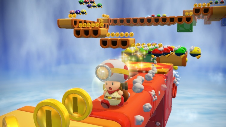 Captain Toad on Wii U.