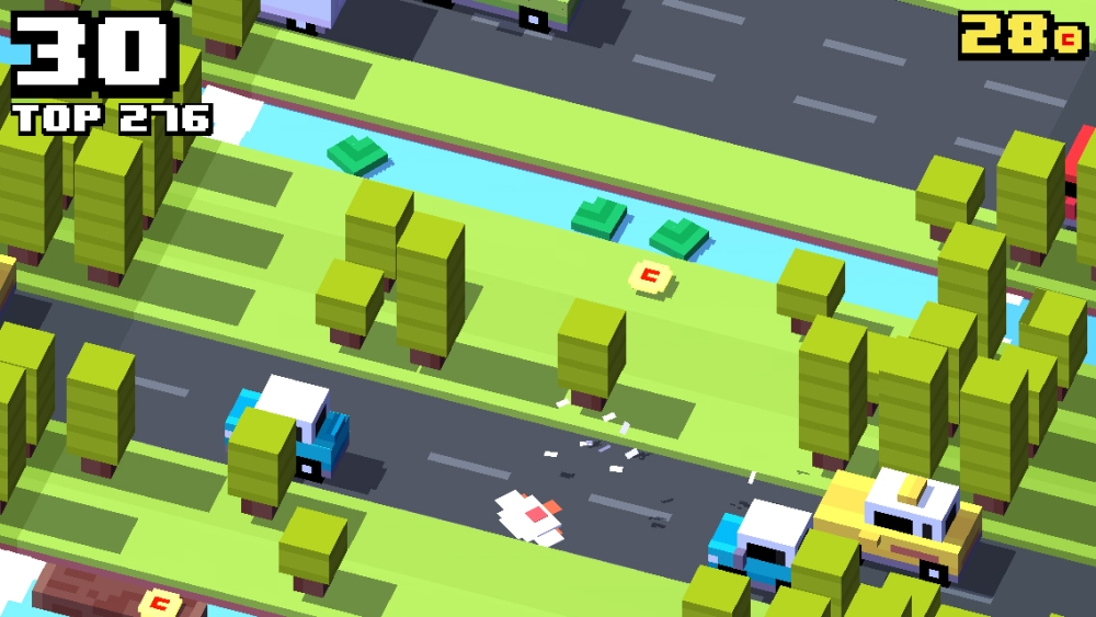 Crossy Road is endless Frogger.