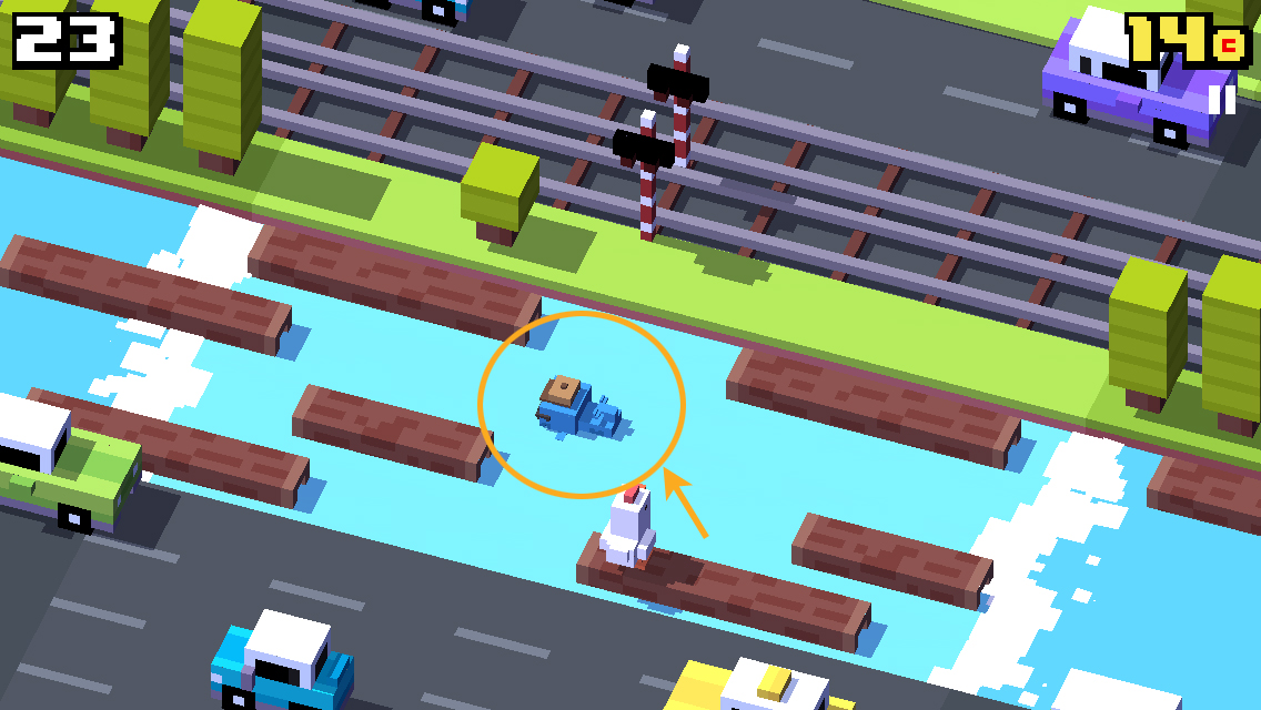 Crossy Road earns $3M in revenue from Unity's video ads