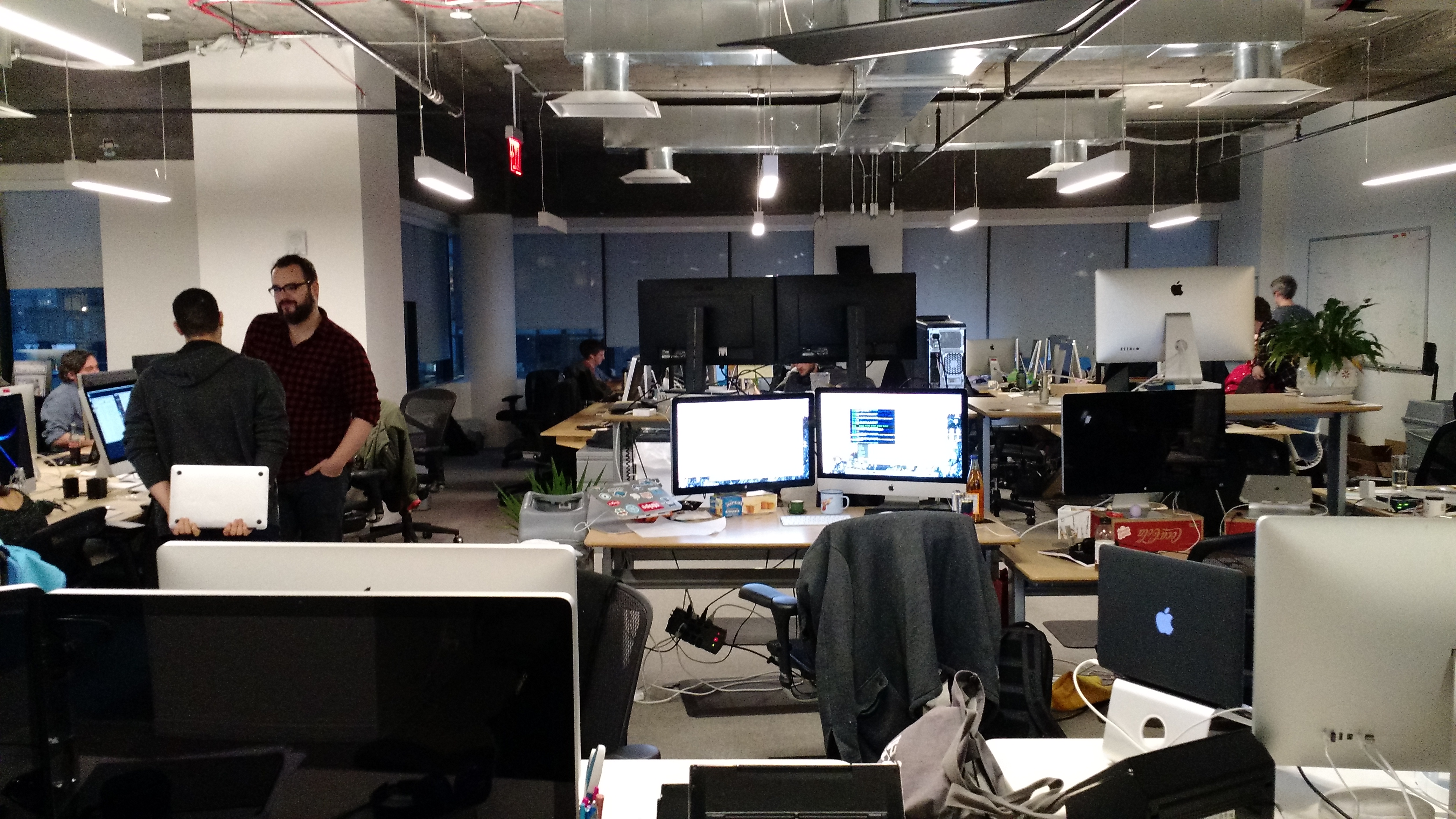 The DigitalOcean headquarters in New York on Dec. 10.