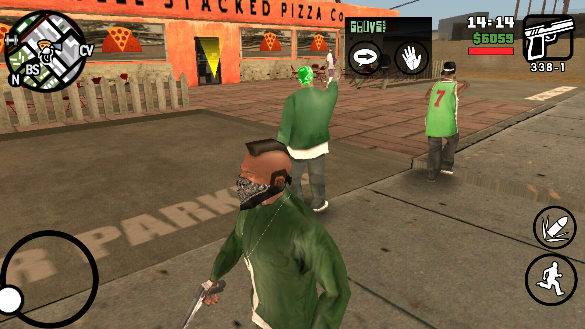 GTA San Andreas Apk + OBB Download For Android (Compressed)