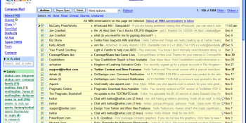 My recently erratic world of the Gmail spam filter