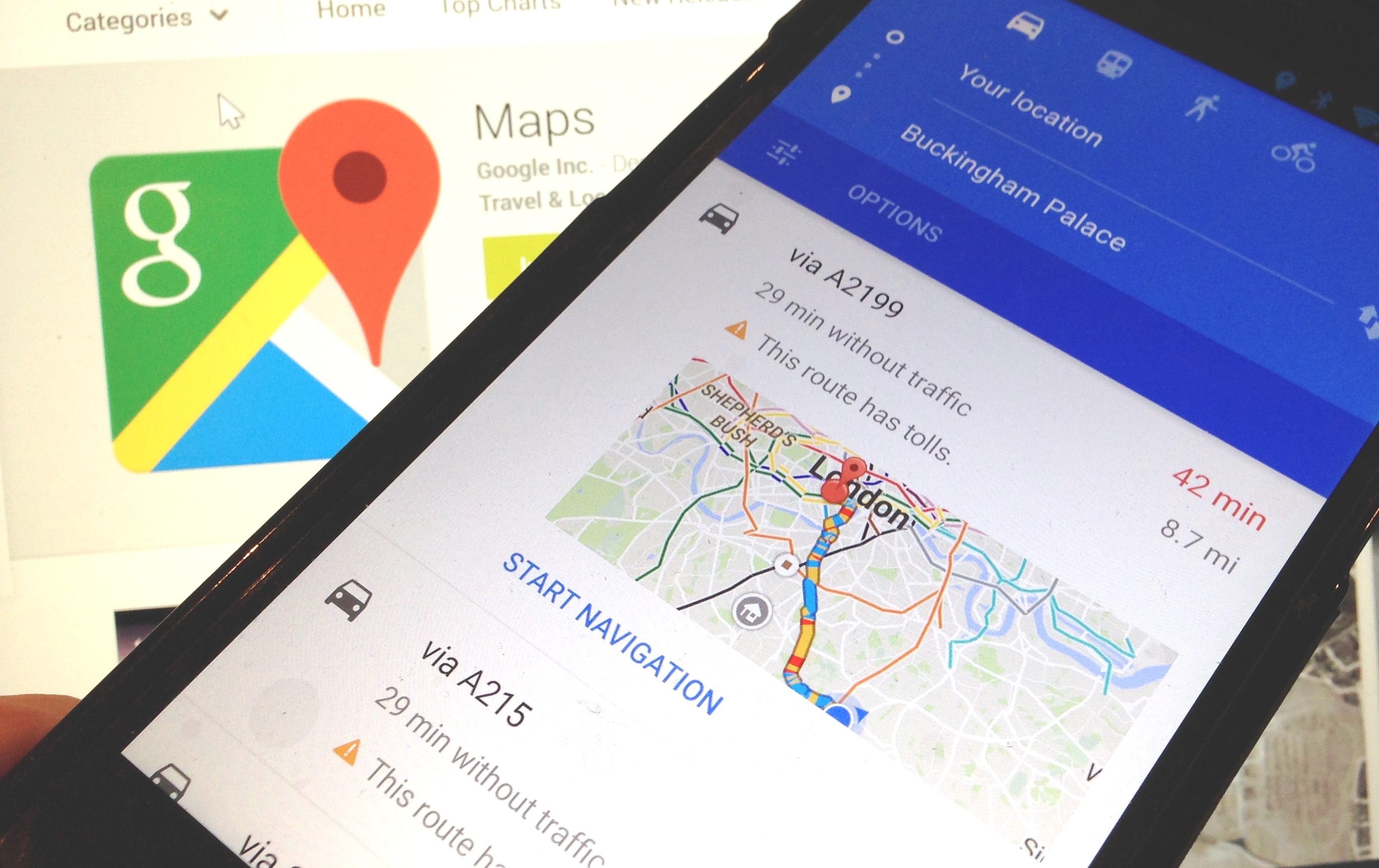 Google Maps goes offline: Download cities, countries, and