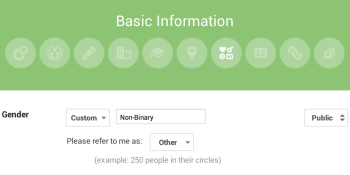 Google embraces transgender community with more gender options on Google+
