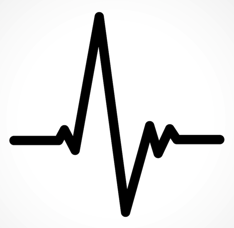 Heartbeat Line Drawing: Heartbeat Vs. Hacker: How Physical Passwords Can Help