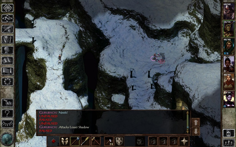 Oops. Pathfinding still has some issues in Icewind Dale: Enhanced Edition.