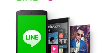 Messaging giant Line buys Microsoft-owned music streaming app MixRadio