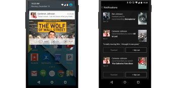 Netflix updates its Android app with social sharing features, Android Wear integration