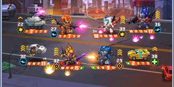 Time makes all things possible — including a Transformers mobile strategy game