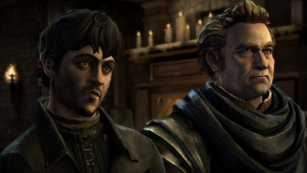 Roose Bolton's bastard son is just as frightening in the game.