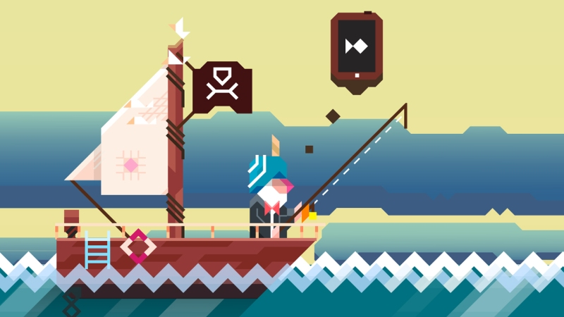 Ridiculous Fishing is one of the best tilt-controlled mobile games.