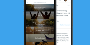 Goal-setting app Lift becomes Coach.me, focuses on marketplace for coaching