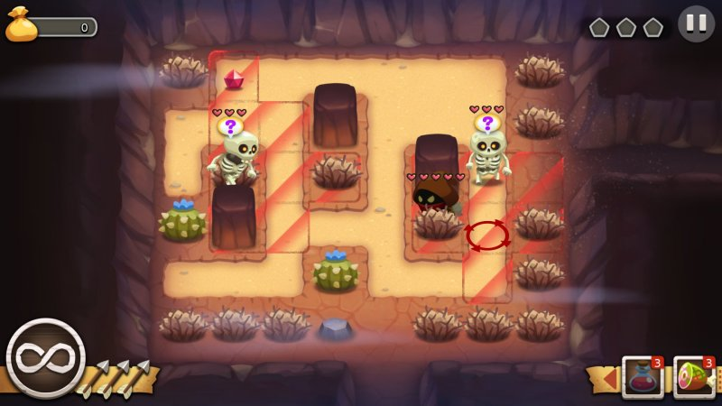 Enemies who see you will investigate your last known position, which that red circle on the right represents.