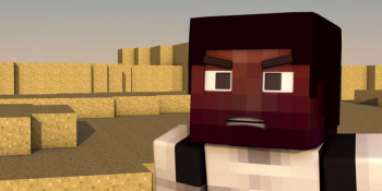 Minecraft meets the 'Star Wars: Episode VII' trailer