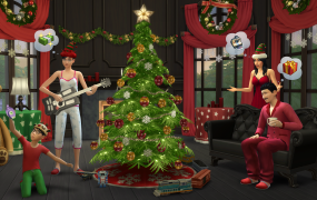 The Sims 4 holiday